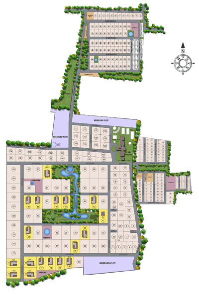royal-orchard Layout Plan,Marg Swarnabhoomi Plots,Ecr Plots,Villa Plots