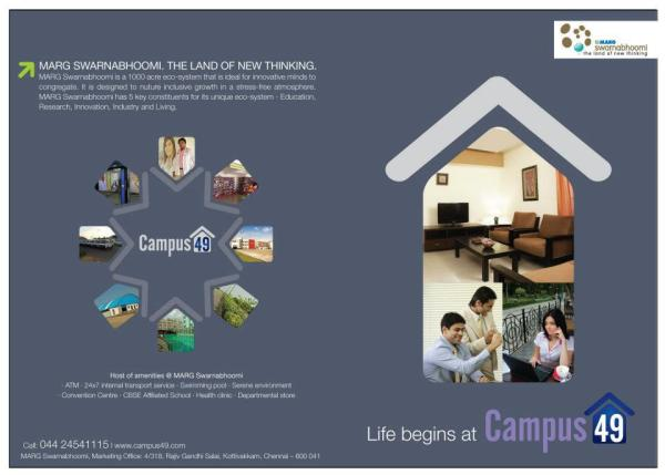 campus 49,Marg Swarnabhoomi,Corporate Hostel,Chennai