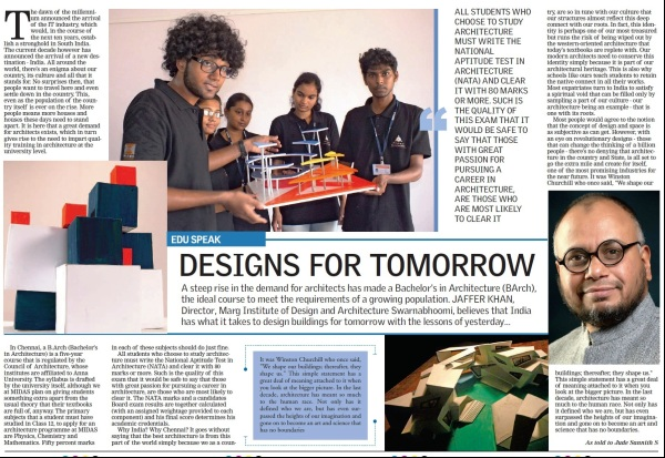MIDAS,marg swarnabhoomi,architecture college,marg institute of design and architecture
