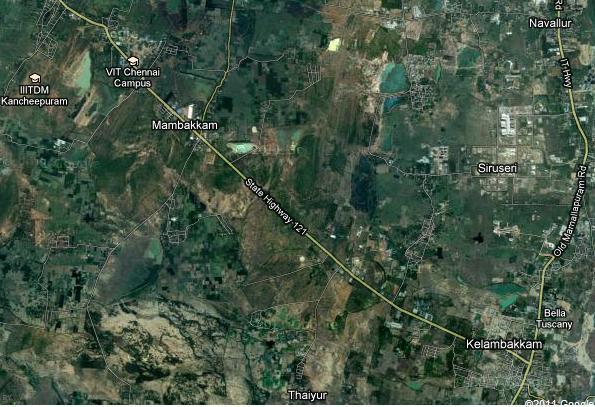 vandalur-kelambakkam road