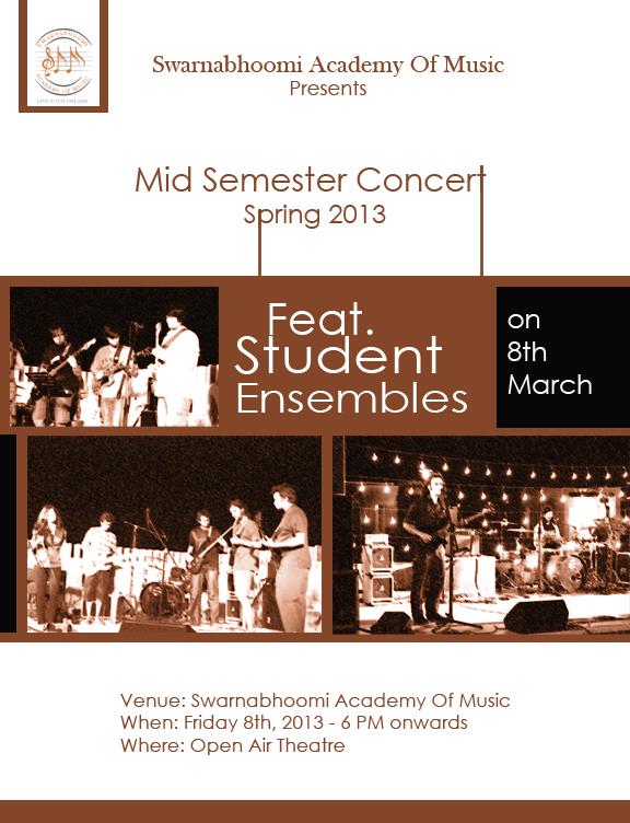SAM,Swarnabhoomi Academy of Music,Marg Swarnabhoomi