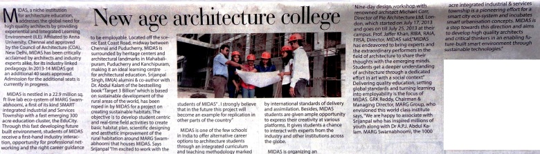 architecture college in chennai,best architecture college in chennai,top architecture college in chennai,barch college in chennai,MIDAS architecture college in marg swarnabhoomi